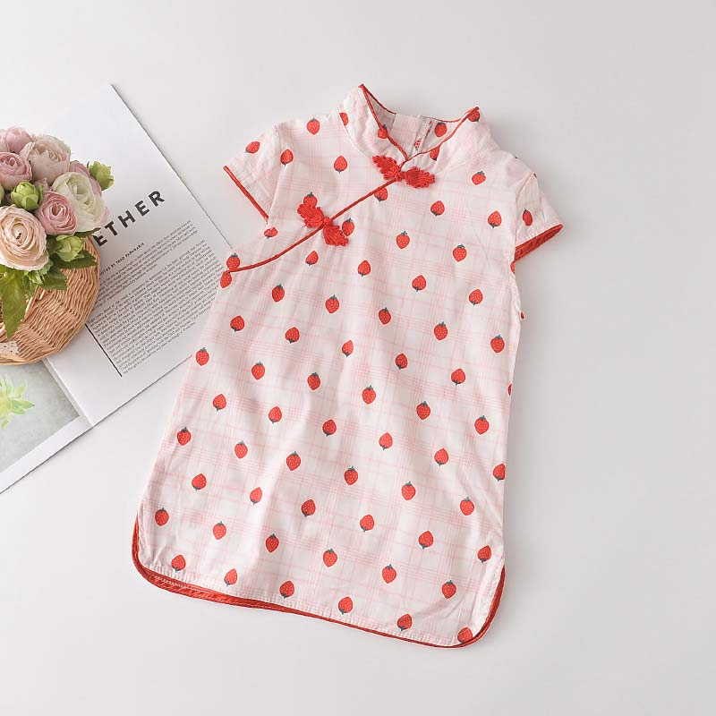 Bear Leader Girls Casual Dresses 2021 New Fashion Kids Chinese Style Clothes Baby Girl Party Outfits Flowers Clothing 2 8 Years 3