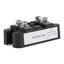 1шт MDQ 150A-1600V черный однофазный диодный мостовой выпрямитель 150A усилитель высокой мощности 1600В
