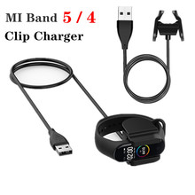 Usb-Adapter Clip-Charger Cable Charging-Cable-Clip Smart Wristband 4-Bracelet Xiaomi