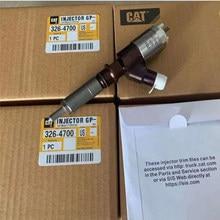 Inyector de combustible CAT C6.4 para excavadora, inyector de combustible GP Common Rail 10R-7675 326-4700 3264700 para E320D Caterpillar