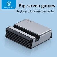 Teclado para juegos, conversor de ratón, Mando de juegos móvil, Bluetooth 4,2, adaptador para teléfono PUBG Android ios a PC