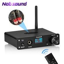 Nobsound HiFi Bluetooth ואקום צינור Preamp מיני USB DAC שולחני אוזניות Amp סטריאו אודיו מקלט עבור קולנוע ביתי מערכת