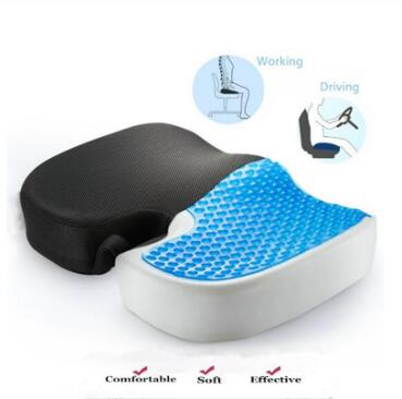 Gel Orthopedic Memory Cushion Foam U Coccyx Travel Seat Massage Car Office Chair Protect Healthy Sitting Breathable Pillows