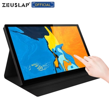 """8.9"""" Touch Screen Portable Monitor ultra slim IPS display HDMI-Compatible Type C for Laptop PS4 Switch XBOX Samsung Note 10 1"""
