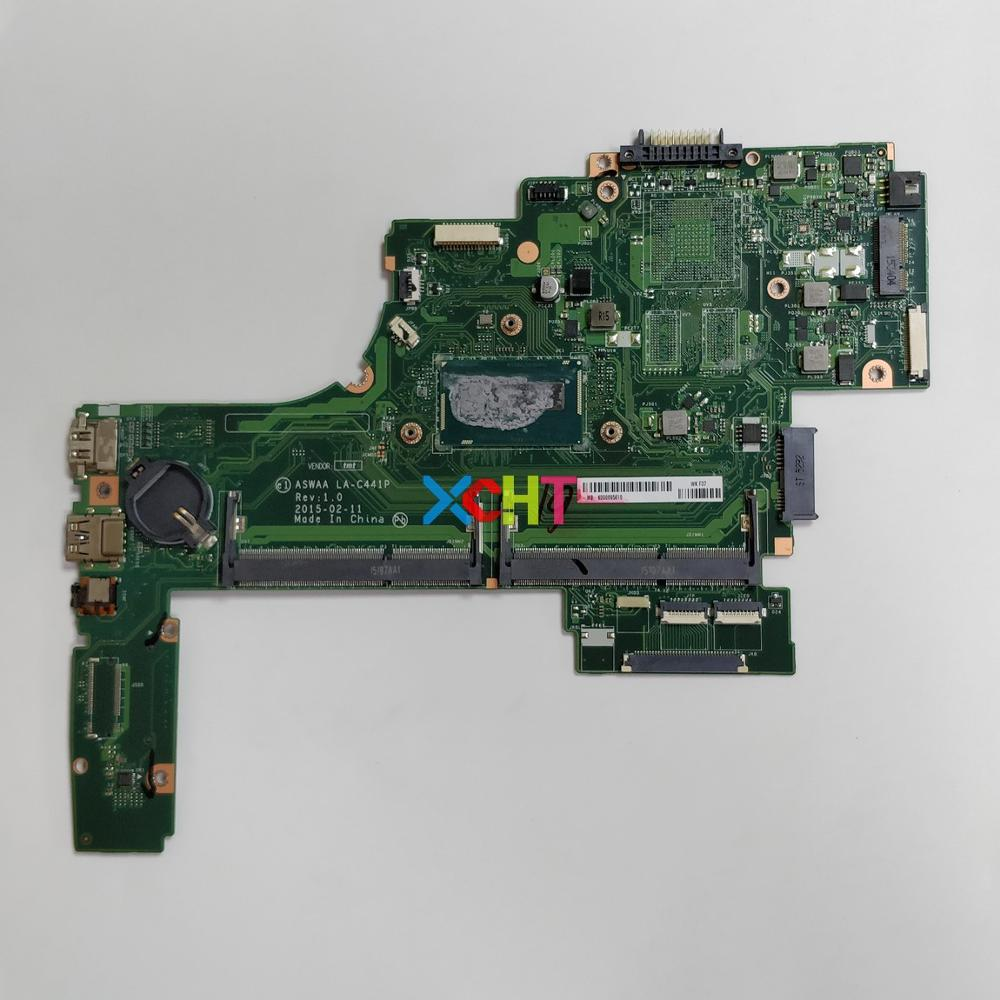 K000895610 ASWAA LA-C441P w <font><b>SR27G</b></font> i3-5005U CPU for Toshiba Satellite NoteBook PC Laptop Motherboard Mainboard image