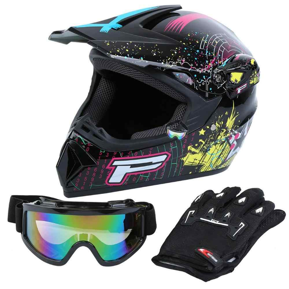 Samger Motorhelm Professionele Racing Motocross Off-Road Helm Volwassen Kids Helm Casque Hors Route Casque Moto