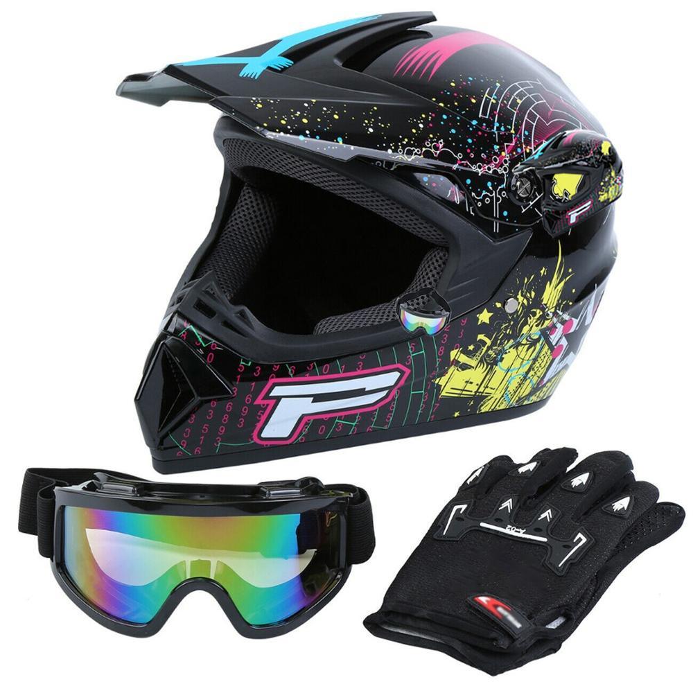 Samger Motorcycle Helmet Professional Racing Motocross Off-Road Helmet Adult Kids Helmet Casque hors route Casque Moto