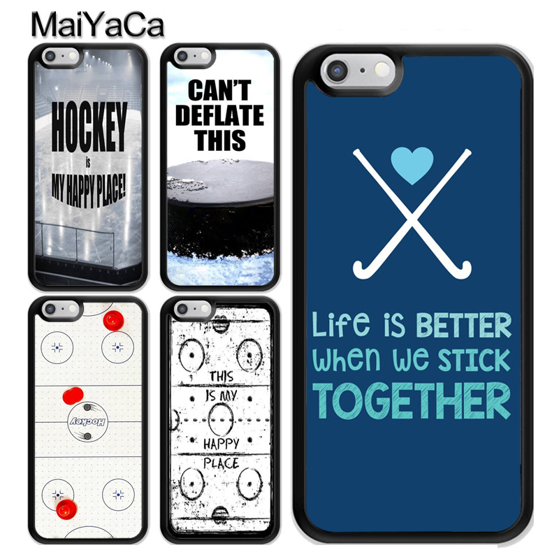 Hockey Sports Inspiration Case Coque For iPhone 11 Pro MAX X XR XS MAX SE 2020