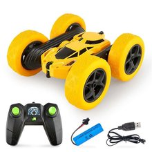 2020 New Double-Sided 360° Rotating And Tumbling Stunt Car Twisting Car 2.4G Charging Children Gift