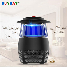 5W USB Electronic LED Mosquito Killer Light Safety Mosquito Trap Insect Killing Lamp For Living Room Bedroom Kitchen Night Light