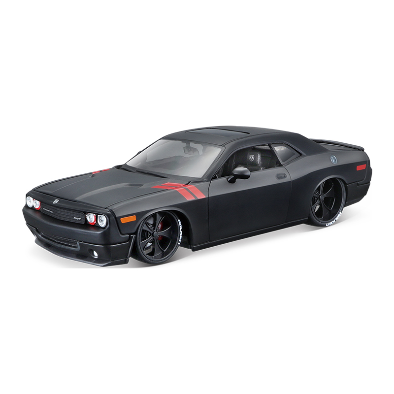 1:24 Dodge Challenger model SRT muscle car sports car simulation alloy car model gift toy for children The Fast And The Furious image