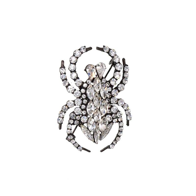 Купить изысканные модные ювелирные изделия стразы кристалл паук животные