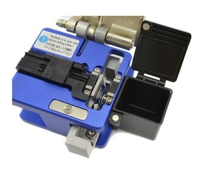 Image 2 - High Precision FC 6S Optical Fiber Cleaver with Fiber Scrap Collector FTTH Fiber Cutting Cleaver Free Shipping
