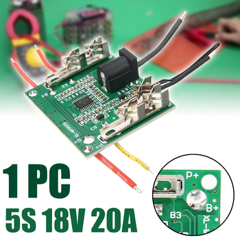 цена на 5S 20A Li-ion Lithium Battery Protection Board 18V PCB BMS Protection Board Integrated Circuits For Drill Motor