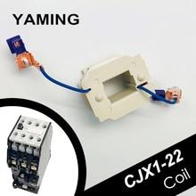 AC Contactor Coil CJX1-22/22 3TB43 Electrical Accessory 12V/24V/36V/48V/110V/127V/220V/380V Two Wires Screws Contact