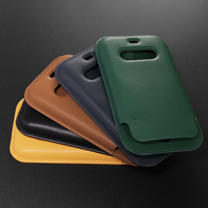 Image 5 - Luxury Original Support Wireless Charging Wallet Case For iPhone 12 Pro Max Magsafe Case For iPhone 12 Leather Card Bag Cover