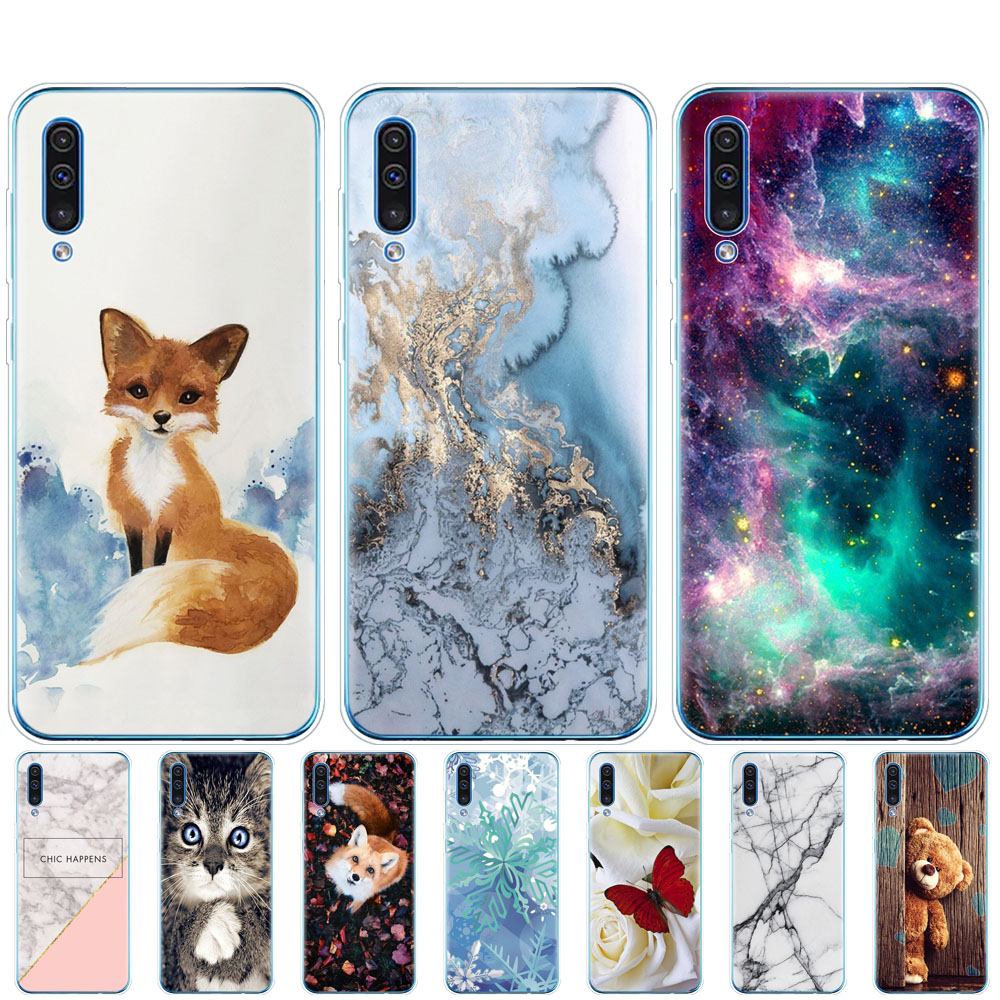 For Samsung Galaxy A30S Case Silicon Transparent Back Cover Phone Case For Samsung A30 A307 A307F SM-A307F 6.4