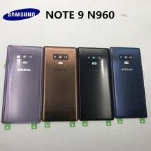 เปลี่ยนด้านหลังเดิมแผงกระจกประตูสำหรับ Samsung Galaxy NOTE9 หมายเหตุ 9 N960 N960F + เครื่องมือ