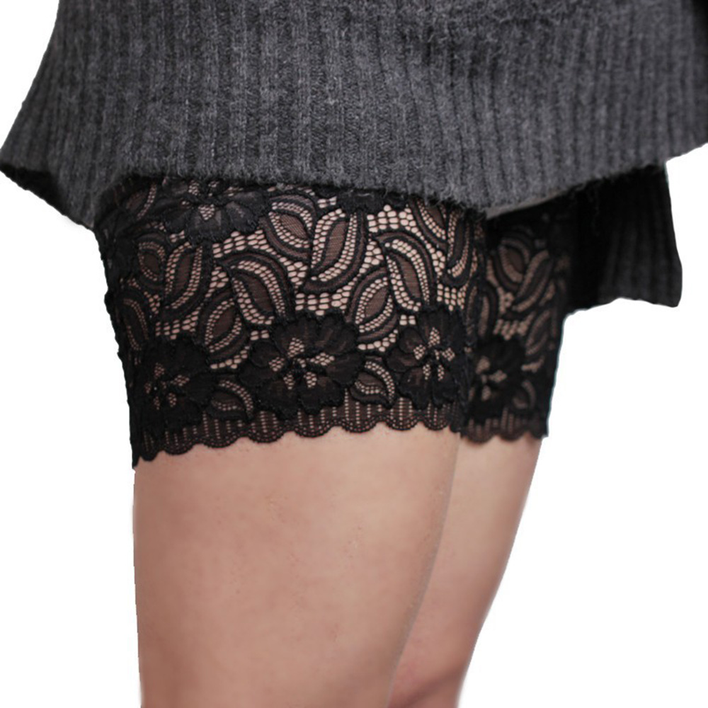 Sexy Lace Women's Thigh Bands Anti-skid Socks Thigh Garters Summer Leg Warmers S To 4XL Dropshipping