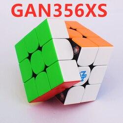 GAN356 XS 3x3x3 Magnetischen Zauberwürfel gans 3x3x3 cube GAN 356XS Magnetische 3x3 Puzzle cubo magico GAN 356 XS 3x3 Geschwindigkeit Magnetischen würfel