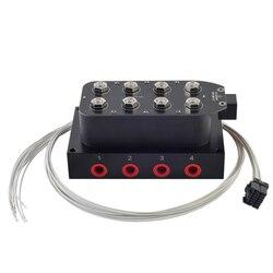 Válvula de colector de suspensión de aire Universal 1/4 1/8 npt Control rápido de bolsas de aire fbss (0-300psi)