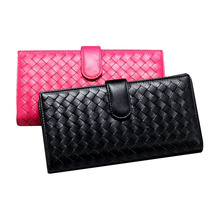 Genuine leather wallet women and wallet