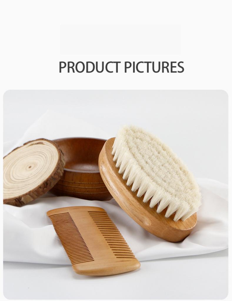 2020 recém-nascido escova de cabelo pente conjunto