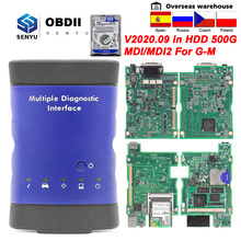 Mdi Voor Gm V2020.09 Mdi 2 Meerdere Diagnose-Interface Obd 2 Voor Gm MDI2 Wifi/Usb GDS2 Tech2win OBD2 auto Diagnostische Auto Tool