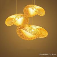 중국 스타일 LED 나무 펜 던 트 램프 대나무 램프 비품 Led 펜 던 트 조명 실내 조명 매달려 조명 Luminaire Suspendu