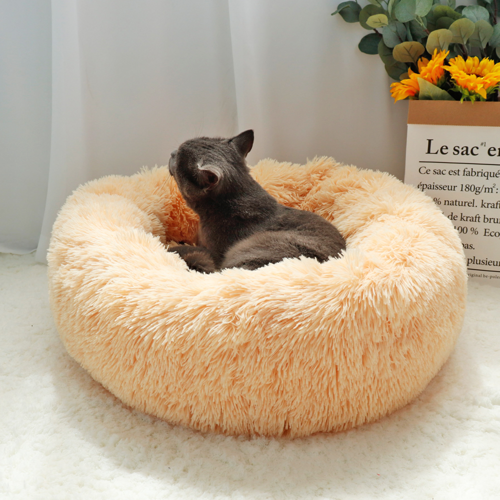 Peach Cat Pet Bed - 1 Royal Living