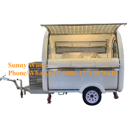 Food Cart Mobile Food Caravan Fast Food Trailer snack truck For Sale