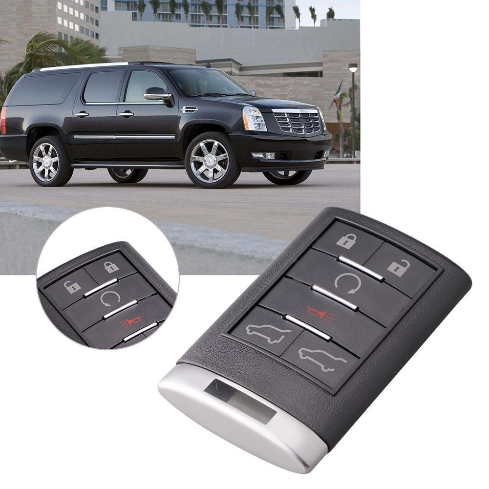 DIY Дистанционное Управление ключ для 2007 2008 2009 2010 2011 2012 2013 2014 Cadillac Escalade дистанционного брелок OUC6000066 315 МГц