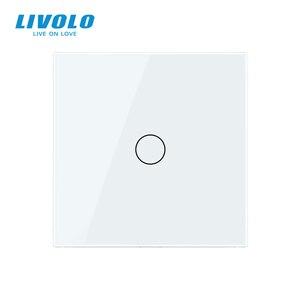 Image 4 - Livolo İngiltere standart 1way duvar işık uzaktan dokunmatik anahtarı, cam Panel, uzaktan kablosuz kontrol anahtarları, hayır wifi fonksiyonu