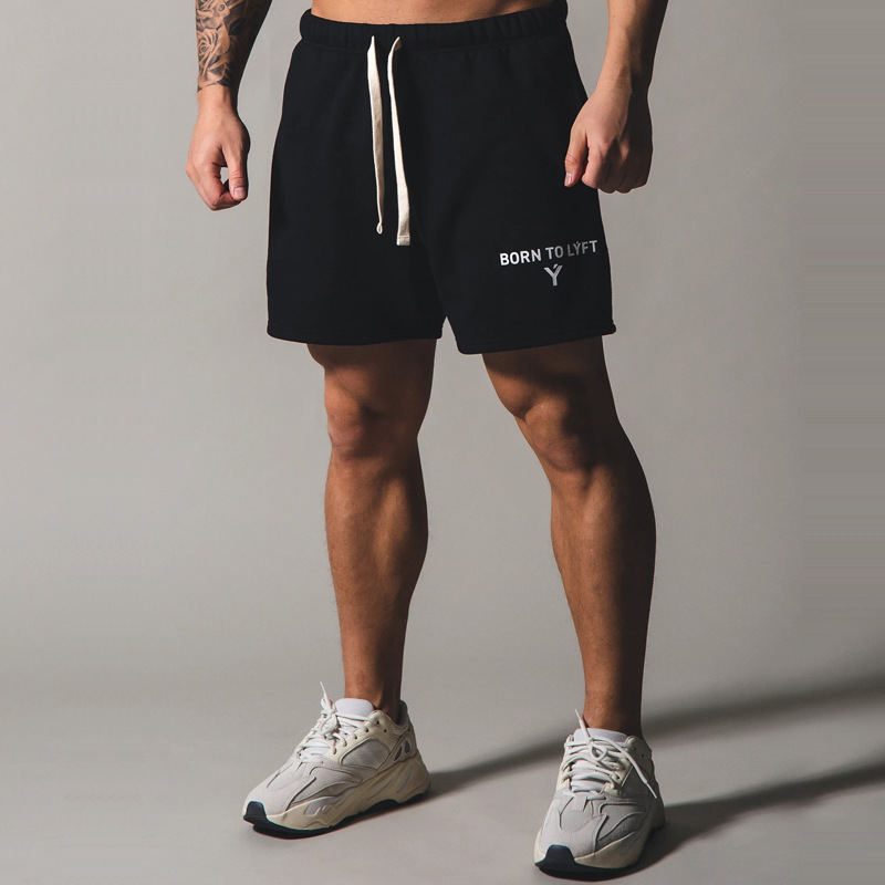 2020 Japan Brand New Fitness Sport Shorts Men Cotton Running Shorts Plus Size 3XL Training Exercise Jogging Short Pants Joggers