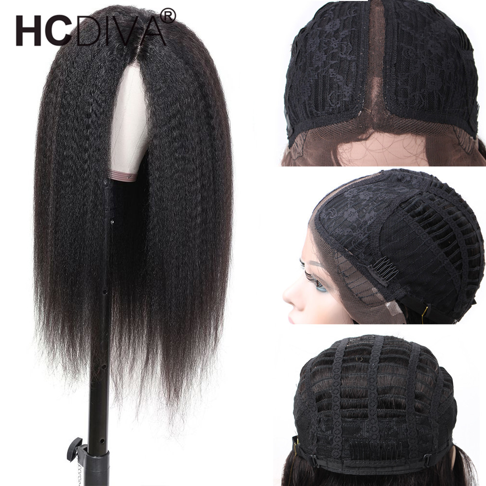 kinky-Straight-Lace-Part-Wig-13-1-Brazilian-Remy-Human-Hair-Wig-5inch-Deep-Part-Lace