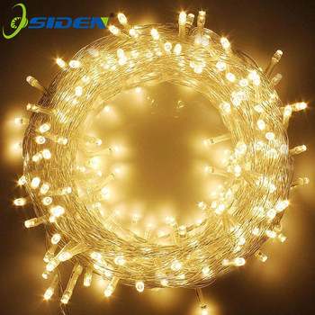 Outdoor String Lights 20m 200LED Decorative Indoor Lights With 8 Flash Modes 220V Fairy Light For Christmas Garden Party Wedding