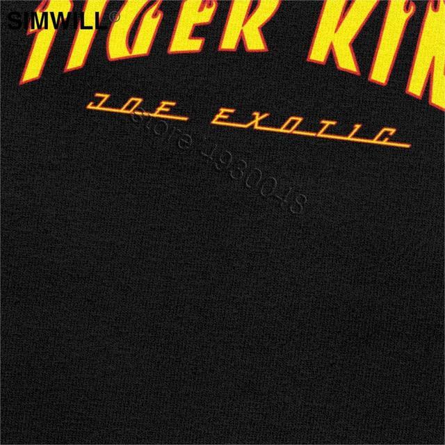 Tiger King Joe Exotic Tee Men Short Sleeve O-neck Election For President T Shirt Fashion Brand Streetwear T-shirt Apparel Gift 4
