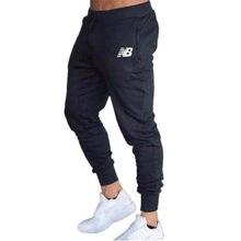 Pantalones de correr informales para hombre, ropa deportiva, chándal, pantalones de chándal ajustados, para gimnasio, novedad de 2021