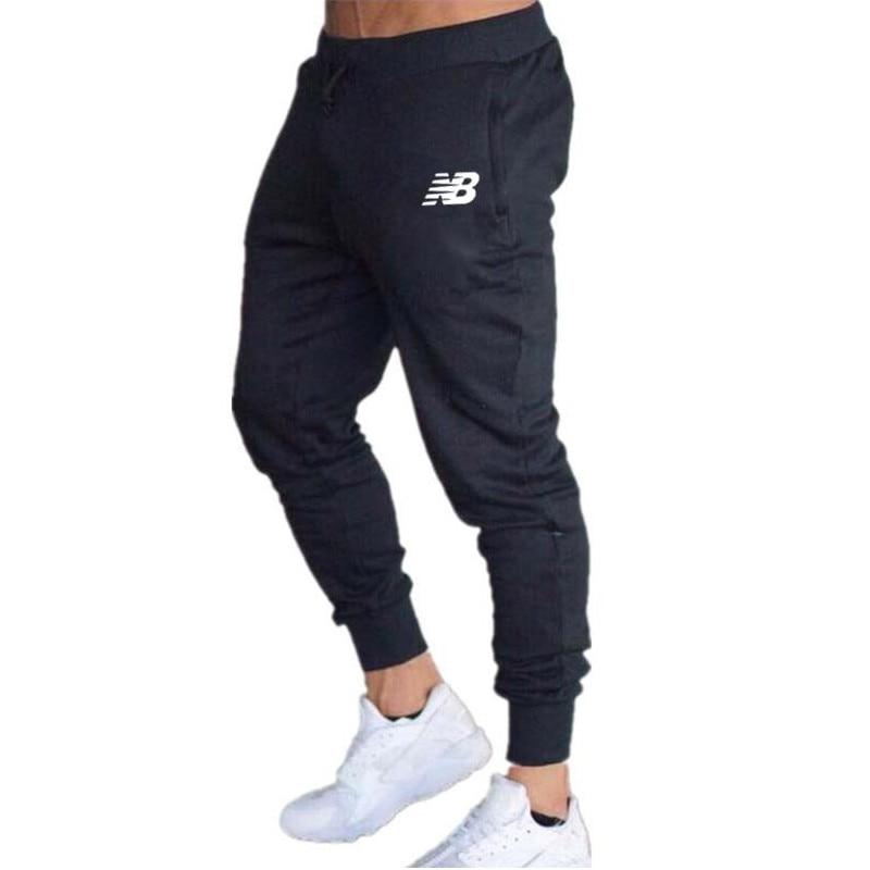 2021 novo casual calças de joggers dos homens de fitness calças esportivas calças de treino bottoms moletom magro ginásios jogger calças de pista
