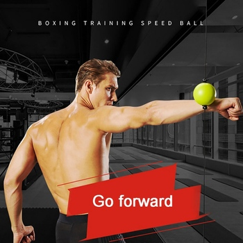 Boxing Quick Puncher Reflex Ball - Speed Ball for Muay Thai MMA Fitness Training for Sports Professional Fitness Equipment 1