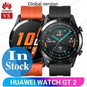 Image 1 - الإصدار العالمي من ساعة هواوي GT 2 SmartWatch Kirin A1 بلوتوث 5.1 الدم الأكسجين معدل ضربات القلب النوم 14 يوم ساعة رياضية ذكية GT 2