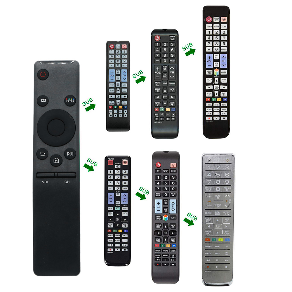 Smart Remote Control Replacement For Samsung HD 4K Smart Tv BN59-01259E TM1640 BN59-01259B BN59-01260A BN59-01265A BN59-01266A 6