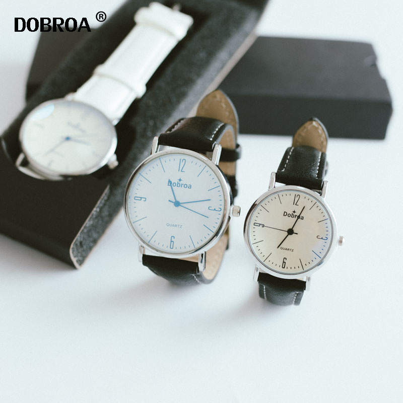 Couple Watch Women's Watches Couple Gift Casual Watch Korean Leather Star Unique Watch Student Watch New Fashion Men Gift