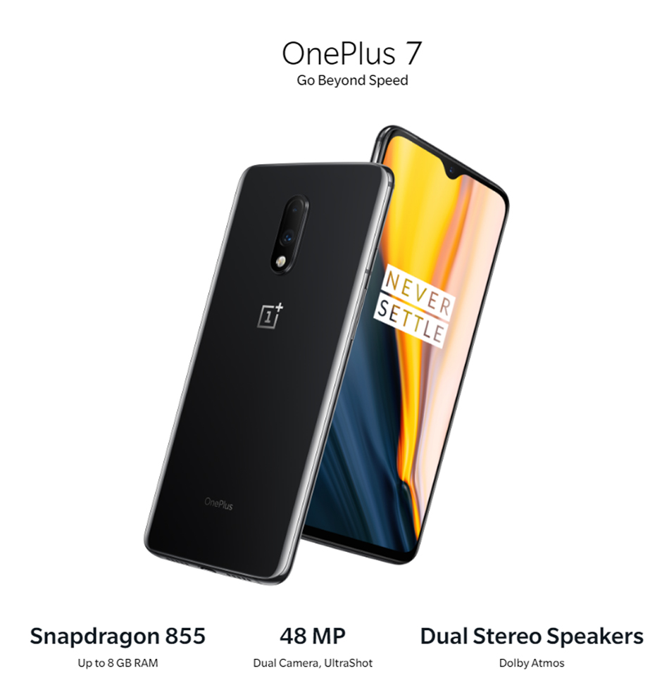Global Version OnePlus 7 6/8GB RAM 128/256GB ROM Snapdragon 855 UFS 3.0 Dual Camera 48 MP Fingerprint Recognition Smartphone 22