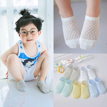 Newborn Infant 0-3-Month Summer Thin Section Children Socks Baby 0-3 Month Socks 0-1-Year-Old Girls Network