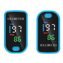 Dedo portátil oxímetro de pulso oxímetro oxigênio no sangue medidor de saturação fingertip pulsoximeter spo2 monitor oximetro dedo oxímetro