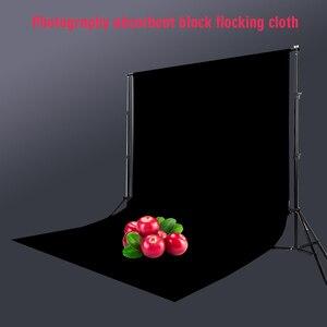 Photo Studio Velvet Reusable Photography Background Light Absorbing Shooting Props Solid Non Reflective Backdrop Black Practical