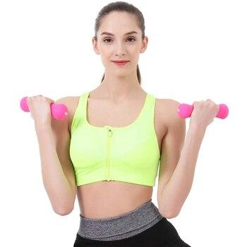 500/750/1000g en forma de hueso pesa señora delgado brazo Fitness interior equipo para ejercicio, entrenamiento de calidad profesional con mancuernas