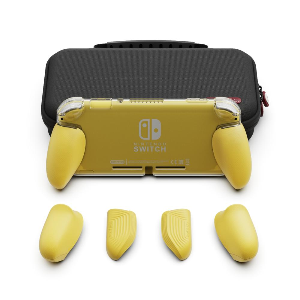 Skull & Co. GripCase Lite With Replaceable Grips MaxCarry Case Lite Protective Case For Nintend Nintendo Switch Lite