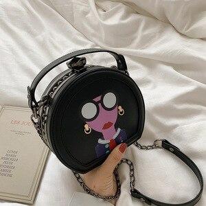 Image 1 - Nuevos bolsos de mujer moda versión coreana bolso de hombro cadena bolsa de mensajero Bolsa De mujer dulce. Bolsas de diseñador de lujo